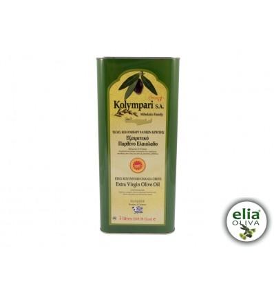 Olivový olej PDO KOLYMBARI 5L - TIN