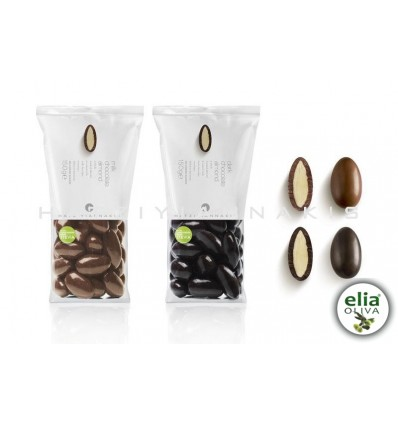 Dražé - mandle v čokoláde so steviou 150gr