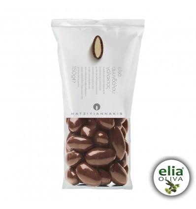 Mandľové dražé v mliečnej čokoláde 150gr