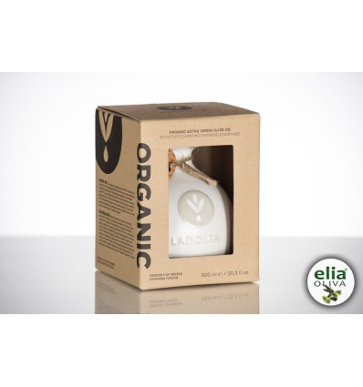 LADOLEA white pot EVOO ORGANIC 200ml - carton