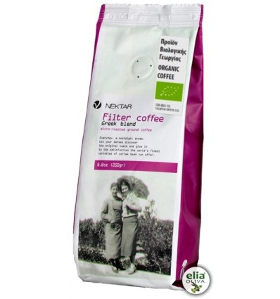 NEKTAR - filter coffee ORGANIC 250gr