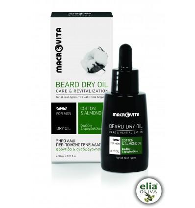 Macrovita - suchý olej na bradu 30ml