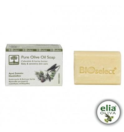 BS olivové mydlo pre deti - sensitive 80gr