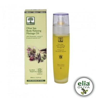BS masážny olej 100ml - relaxačná masáž tela