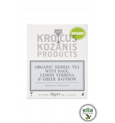 BIO bylinkový čaj so šalviou a šafránom 18gr