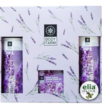 BF - GIFT SET LAVENDER 2x250ml+125gr