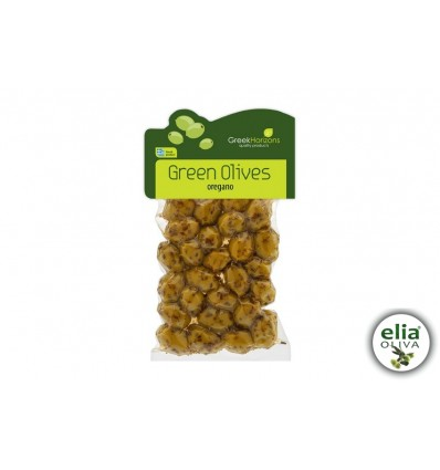 GH - Olivy zelené s oreganom 200gr