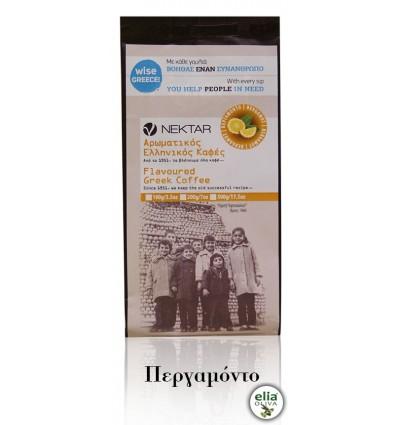 NEKTAR - Grécka káva bergamot 100gr