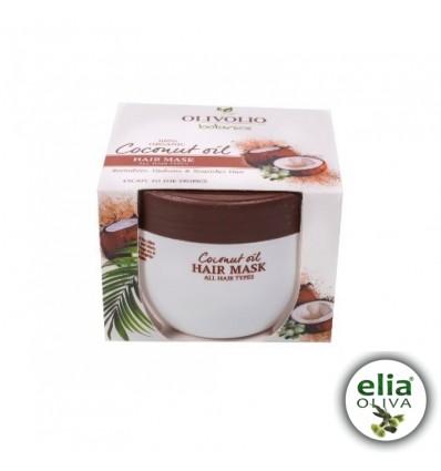 OL COCONUT OIL Maska na vlasy all types 250mls kokosovým olejom, pre všetky typy vlasov