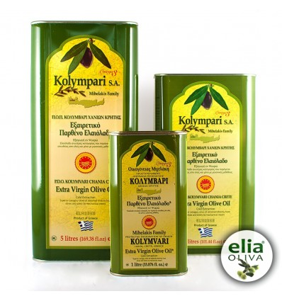 Olivový olej PDO KOLYMBARI 1L - TIN