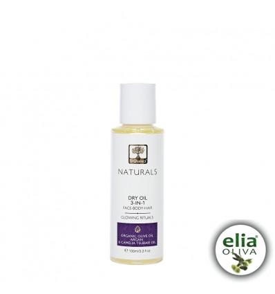 NATUR- Suchý olej 3v1 Telo/vlasy/pleť BIO arganový olej 100ml