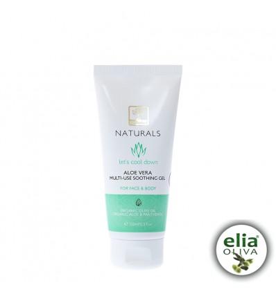 NATUR- Aloe Vera Gel 100mlBIO olivový olej, Aloe-vera, panthenol 92,2% prírodných zložiek