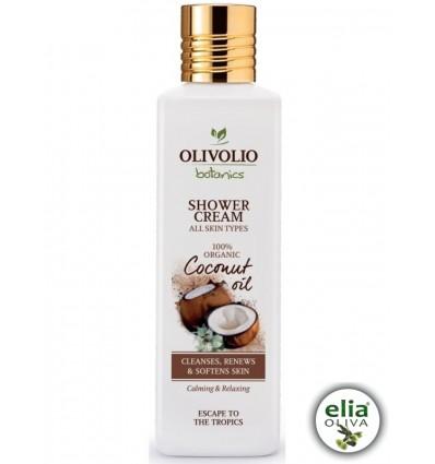 OL coconut oil sprchový krém 250ml