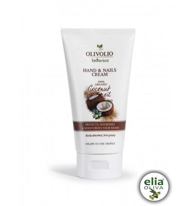 OL coconut oil Krém na ruky a nechty 150ml