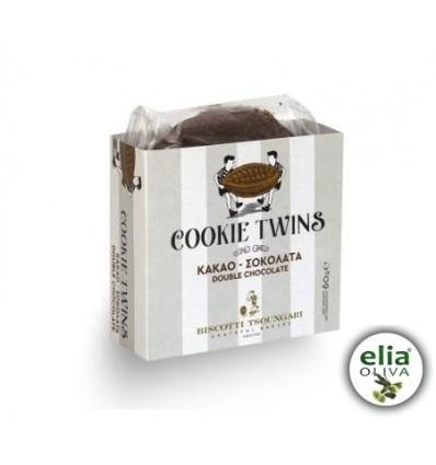 Sušienky twins double chocolate 60gr