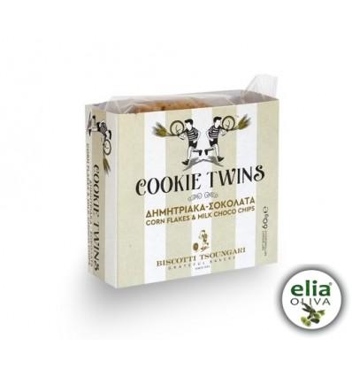Sušienky twins kúsky čokolády 60gr