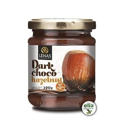 Dark choco - lieskový orech 190gr