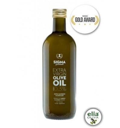 SIGMA extra panenský olivový olej 1l - sklo