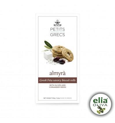ALMYRA - slané syrové sušienky s olivami a koriandrom 150g