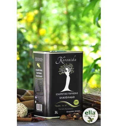 Extra panenský olivový olej Koronida 3L - plechovka