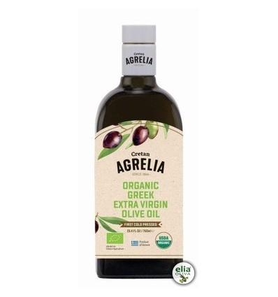 """BIO olivový olej """"AGRELIA"""" 500mlProdukt organického poľnohospodárstva."""