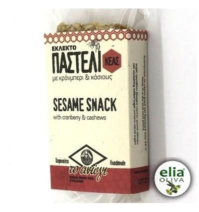 Tyčinka sezamová - čučoriedka a kešu orechy 70g