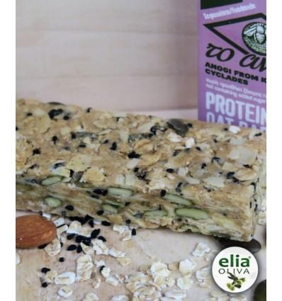 Tyčinka proteínová ovsené vločky a mandľové maslo 60g