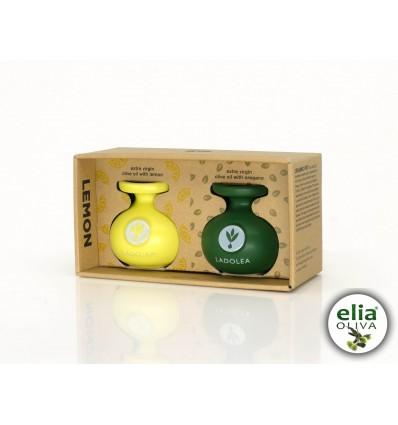 LADOLEA double box zelená/žltá mini 2x80ml