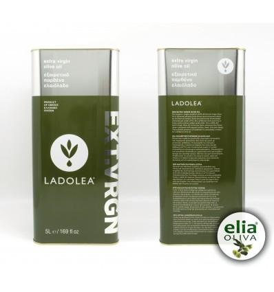 LADOLEA - extra panenský olivový olej 5L-plechovka