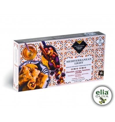 Baklava čokoláda, pomaranč, lieskovce 175g (5ks)