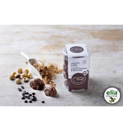Čokoládové sušienky s karobom 120gvegánske, s olivovým olejom