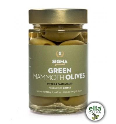 Sigma Olivy zelené - bez kôstky 190g