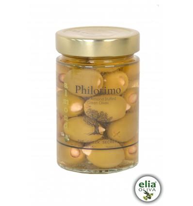 PHILOTIMO olivy plnené mandľami 300gr