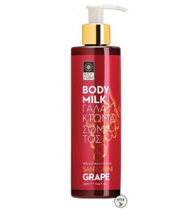 BF - Santorini grape telové mlieko 250ml