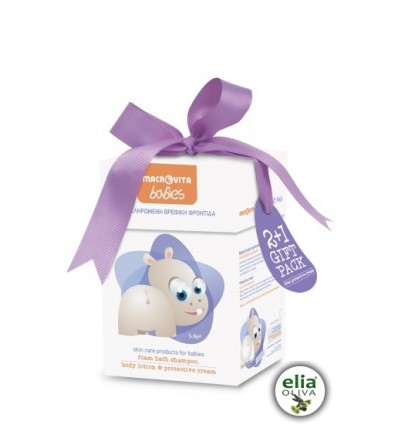 Baby Hippo - GIFT pack skin care for babies 0-36M