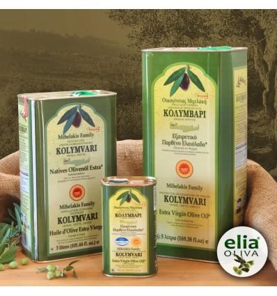 Olivový olej PDO KOLYMPARI 3L-TIN