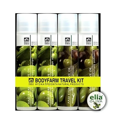 BF - TRAVEL SET 4x50ml olive oil