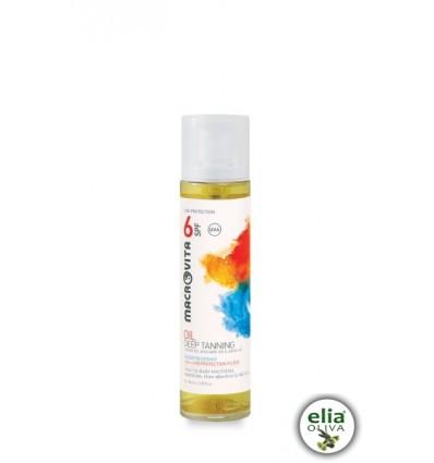 Macrovita - deep tanning oil SPF6 100ml