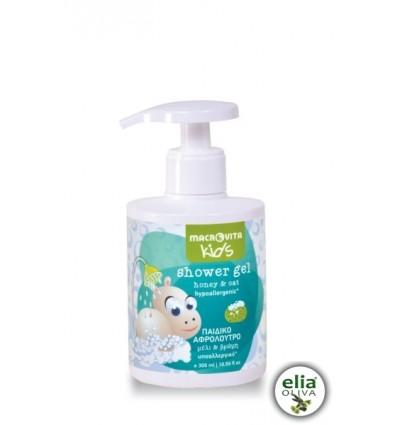 Baby Hippo - sprchovací gel s medom a ovsom 300ml