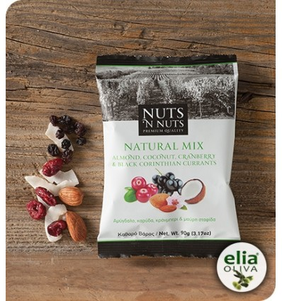 Nuts ´nuts natural mix 90gr