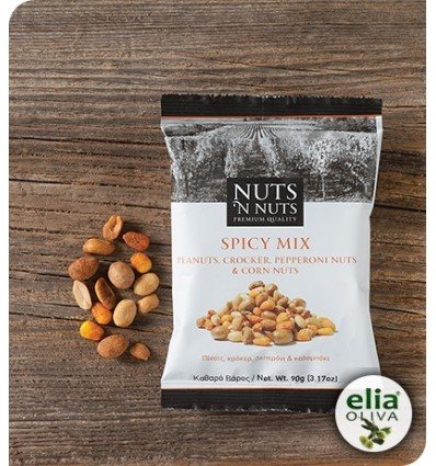 Nuts ´n nuts spicy mix 90gr