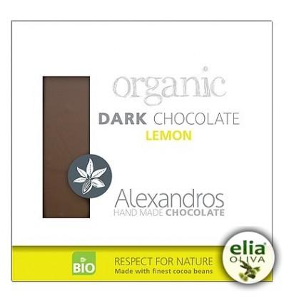 BIO čierna čokoláda s citrónom 90gr