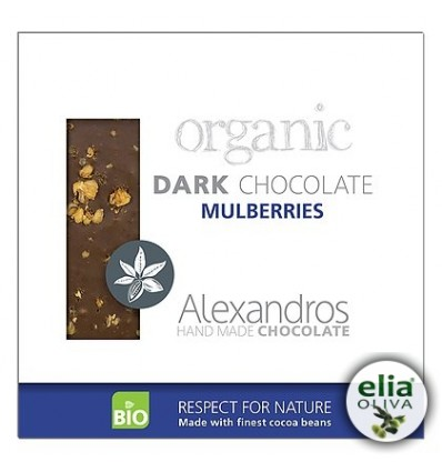 BIO čierna čokoláda s morušou 90gr