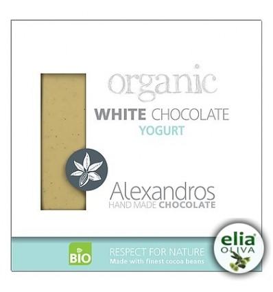 BIO biela čokoláda - jogurtová 90gr