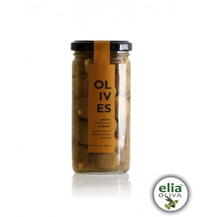 AGORA - olivy plnené mandľami BIO 240gr