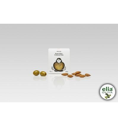 Nátierka zo zelených olív s mandľami 220gr