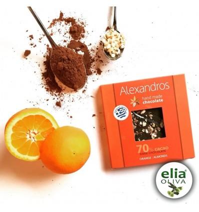 Čierna čokoláda s pomarančom 90gr