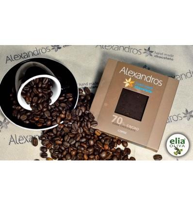 Čierna čokoláda s kávou 90gr