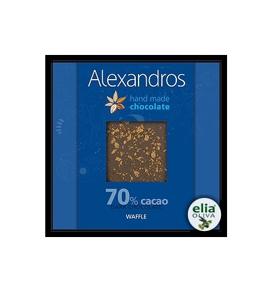 Čierna čokoláda waffle 90gr