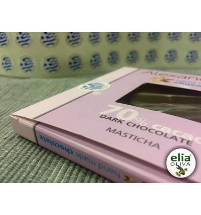 Čierna čokoláda s mastichou 90gr